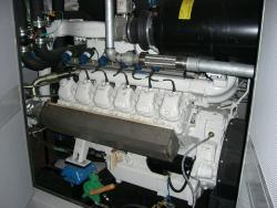 CHP Engine at Hazlehead